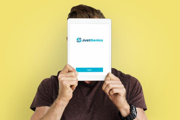 Sample branding #2 for Justgenics