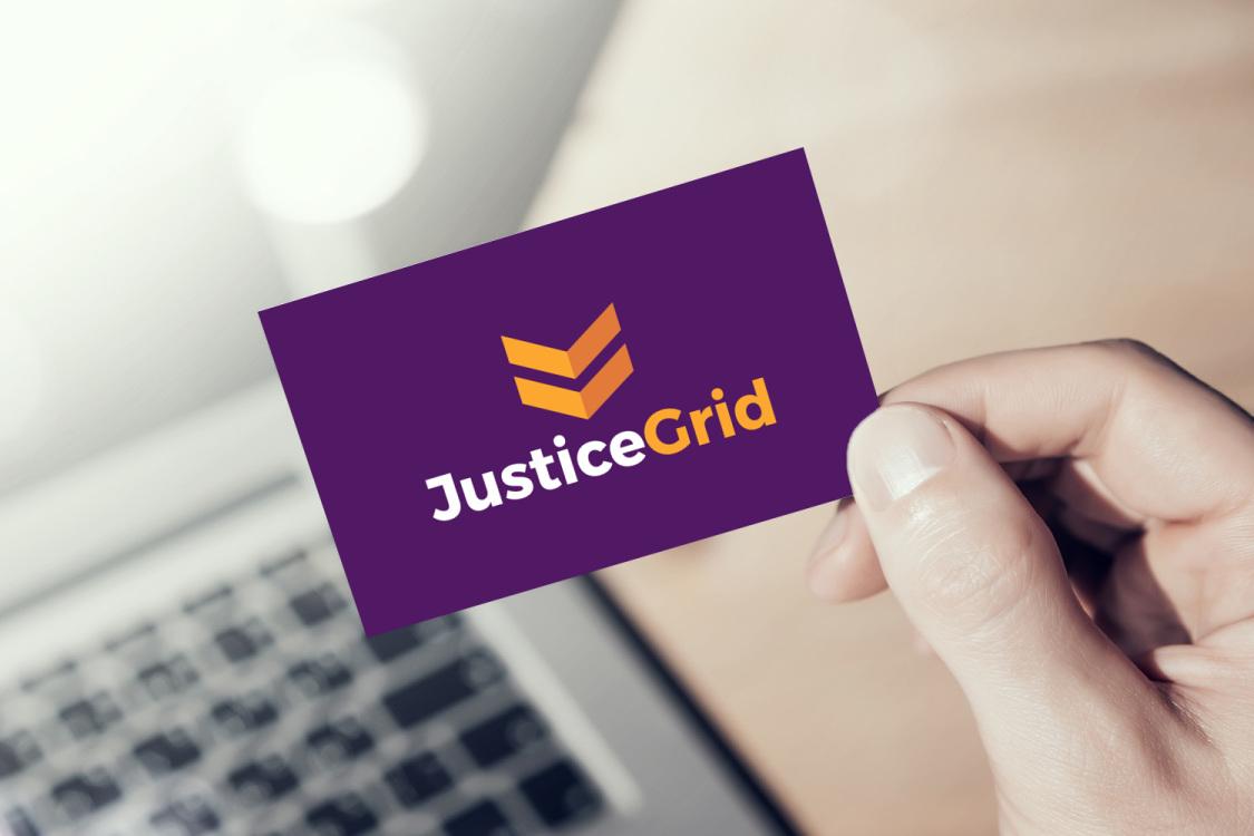 Sample branding #2 for Justicegrid