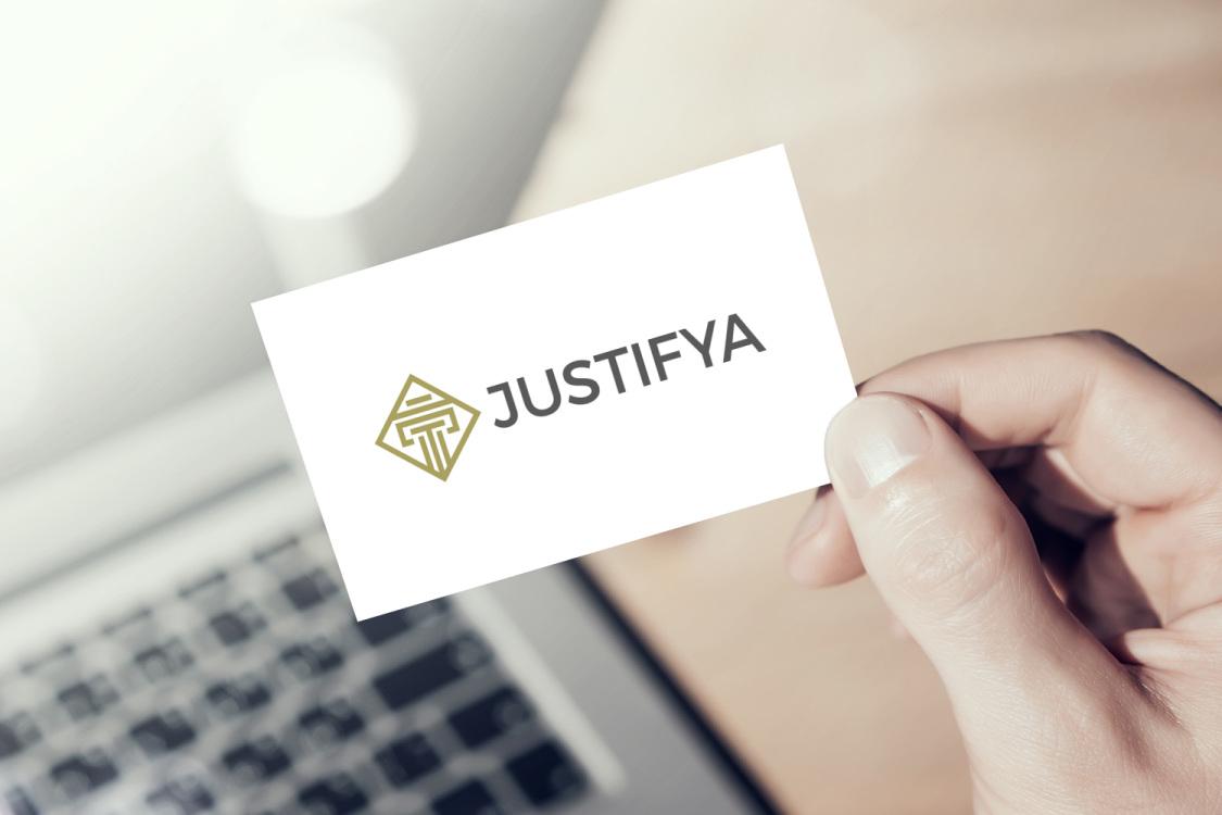 Sample branding #2 for Justifya