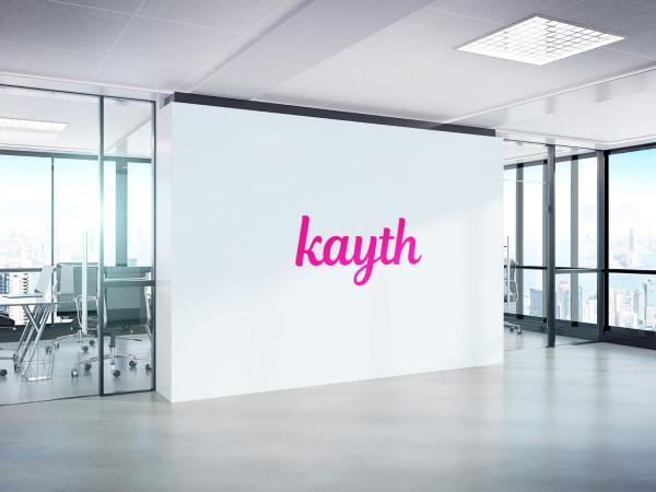 Sample branding #3 for Kayth