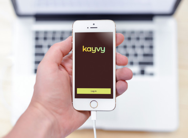 Sample branding #1 for Kayvy