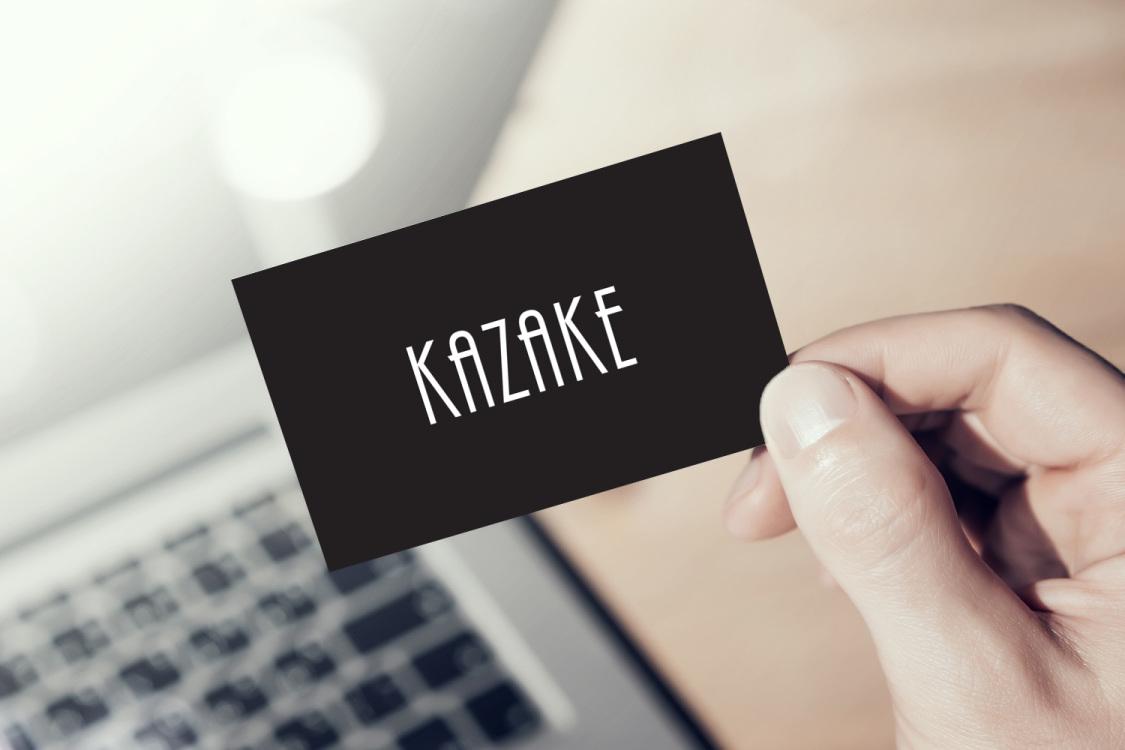 Sample branding #3 for Kazake