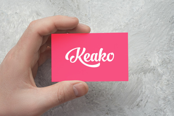 Sample branding #3 for Keako