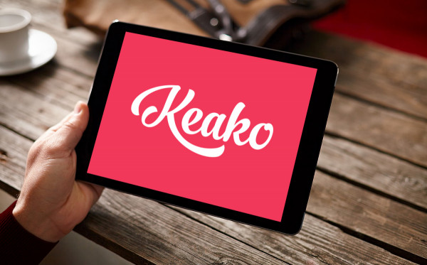 Sample branding #1 for Keako