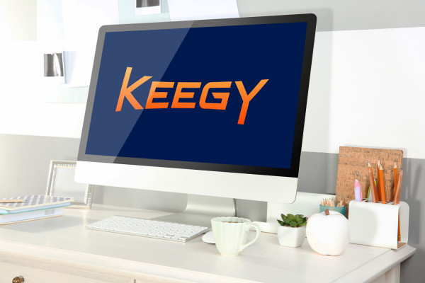 Sample branding #3 for Keegy