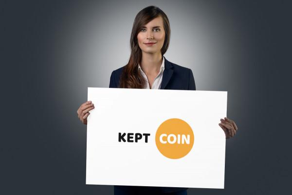 Sample branding #1 for Keptcoin