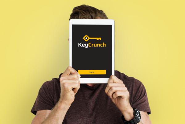 Sample branding #3 for Keycrunch