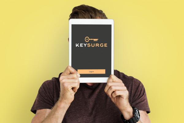 Sample branding #1 for Keysurge