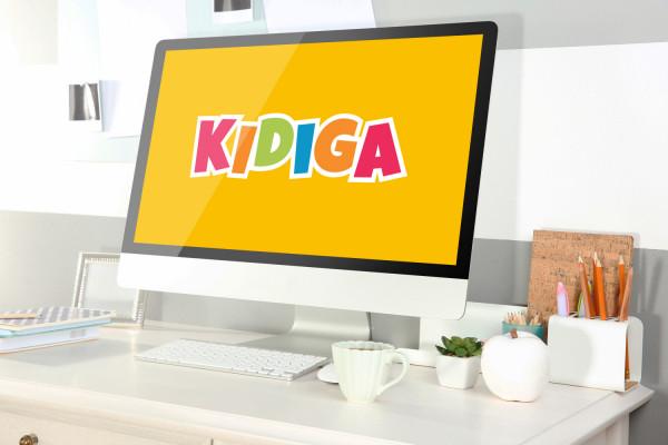 Sample branding #3 for Kidiga
