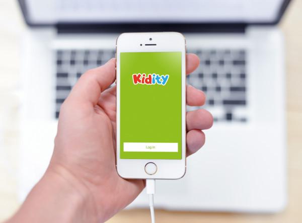 Sample branding #1 for Kidity