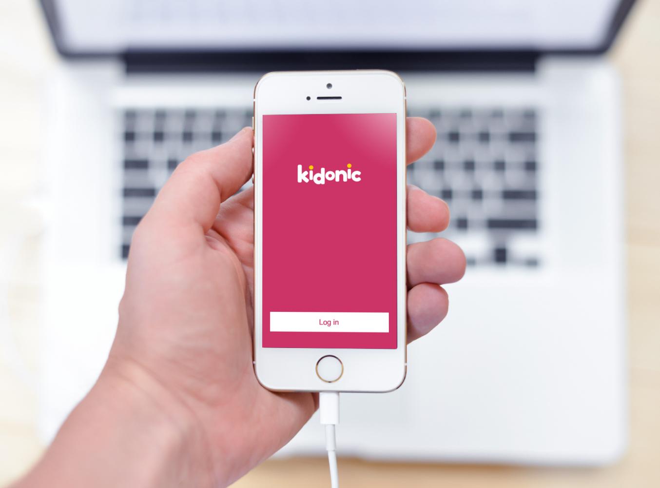 Sample branding #2 for Kidonic