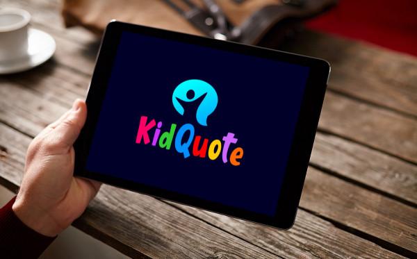 Sample branding #1 for Kidquote