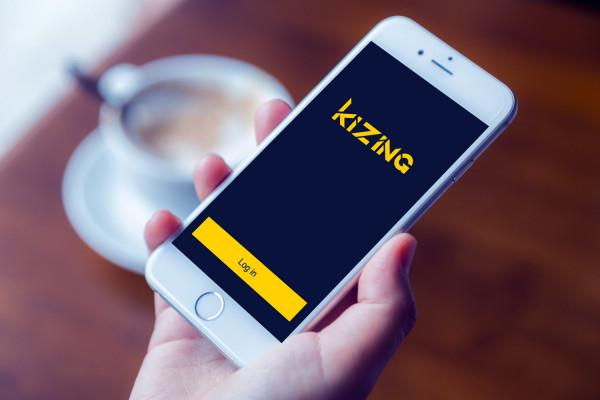 Sample branding #2 for Kizing