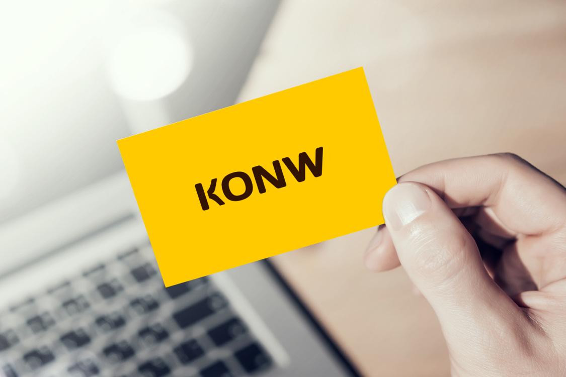 Sample branding #1 for Konw