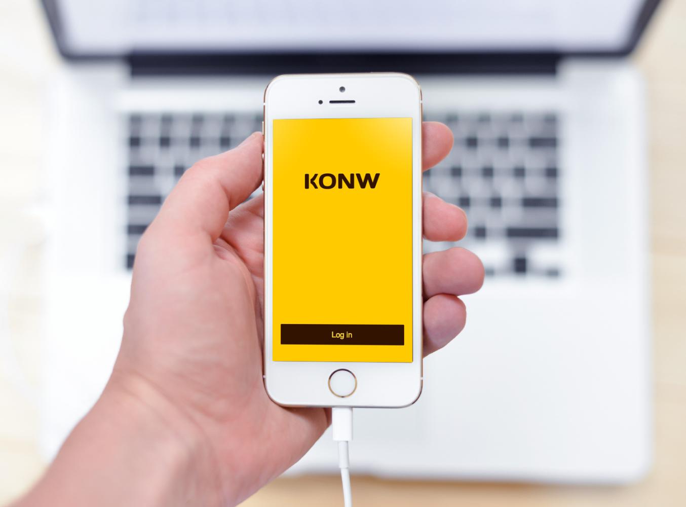 Sample branding #2 for Konw