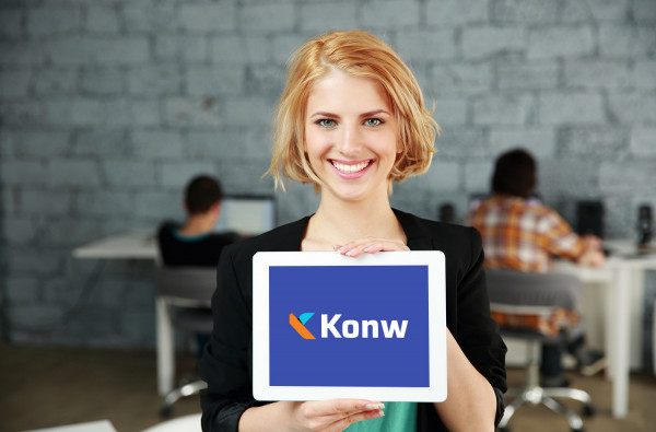Sample branding #3 for Konw