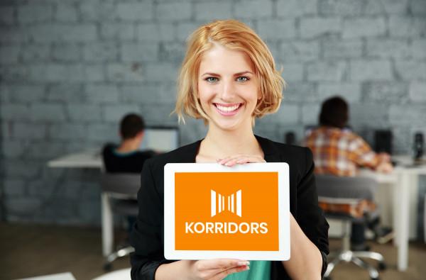 Sample branding #2 for Korridors