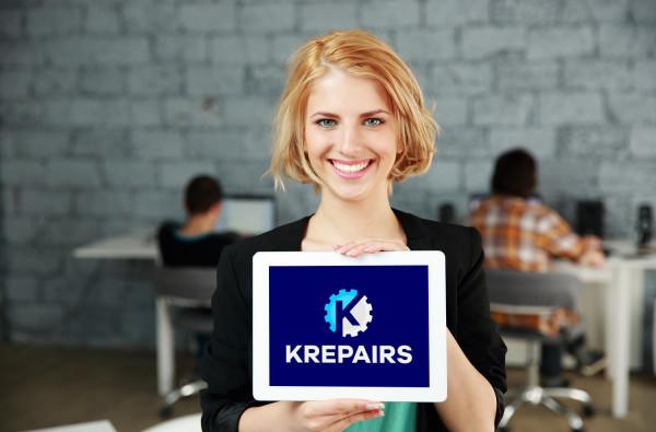 Sample branding #2 for Krepairs