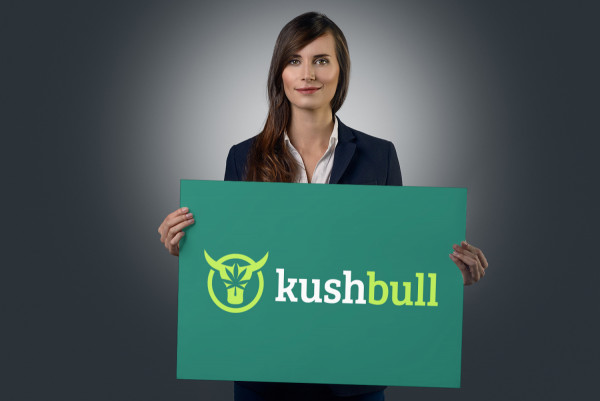 Sample branding #3 for Kushbull