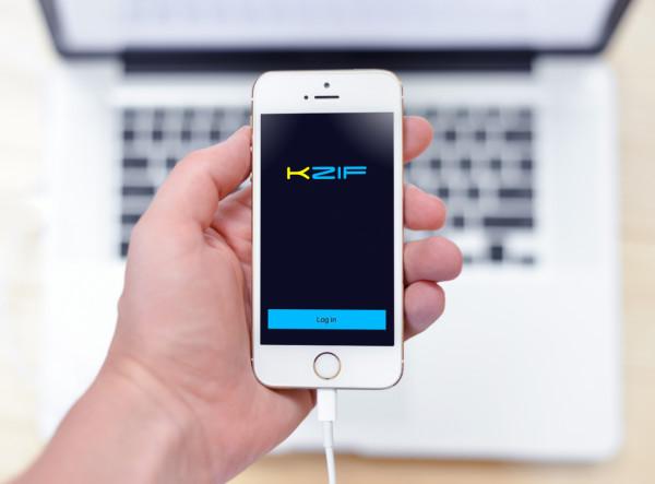 Sample branding #2 for Kzif