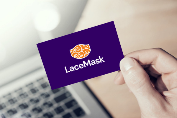 Sample branding #1 for Lacemask