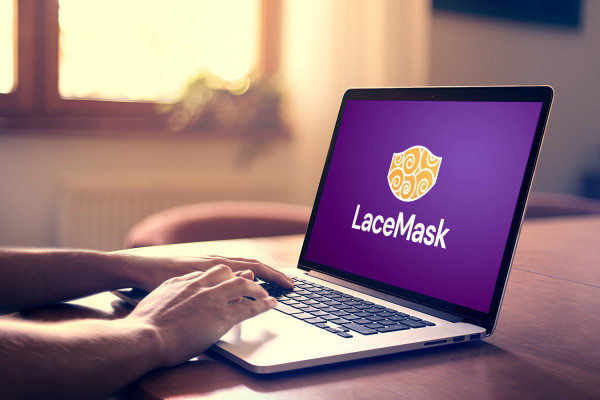 Sample branding #2 for Lacemask