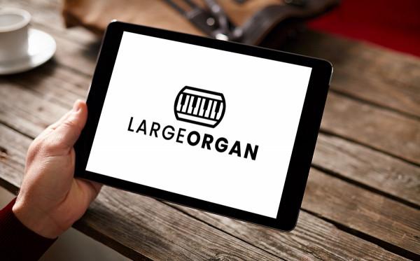 Sample branding #1 for Largeorgan