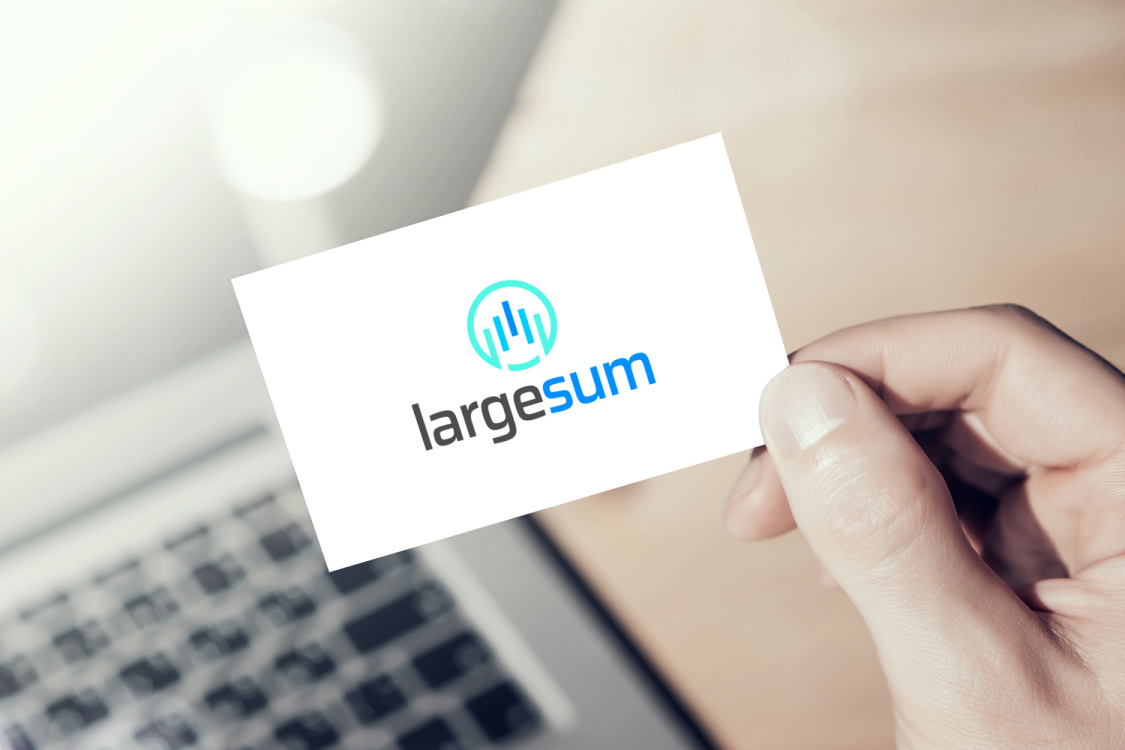 Sample branding #2 for Largesum