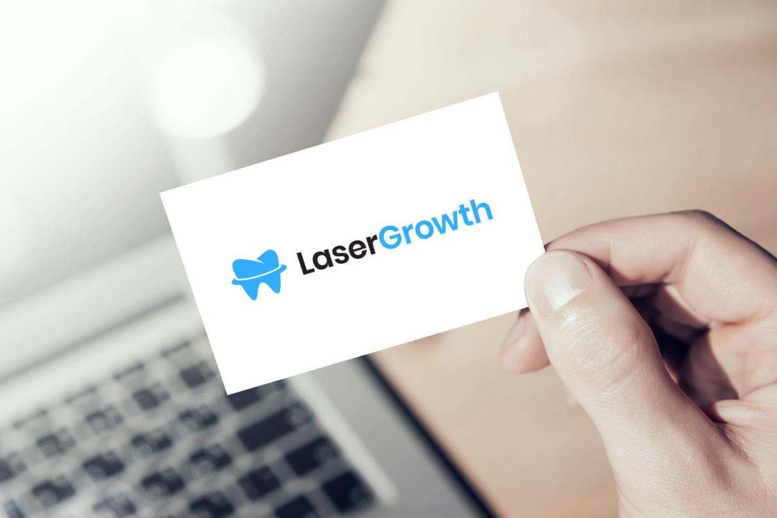 Sample branding #3 for Lasergrowth