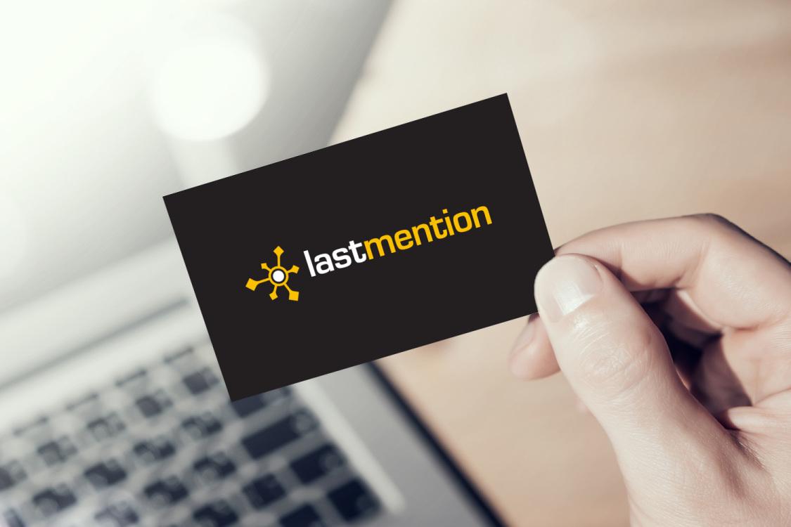 Sample branding #2 for Lastmention