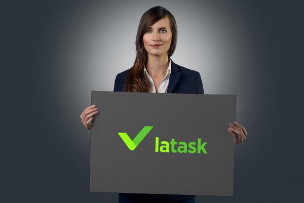 Sample branding #2 for Latask