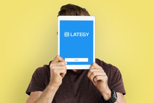 Sample branding #1 for Lategy