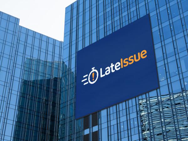 Sample branding #2 for Lateissue