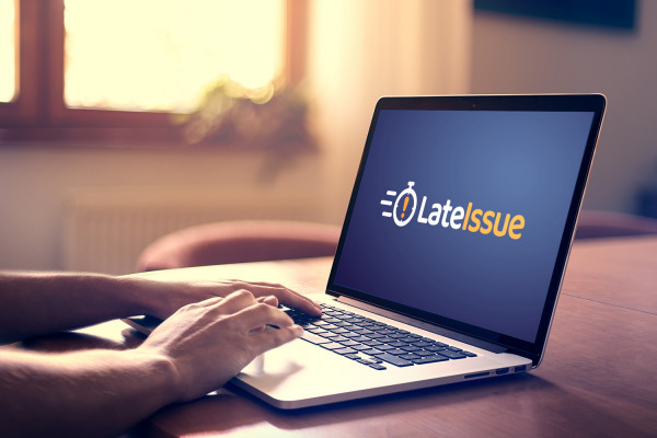 Sample branding #3 for Lateissue