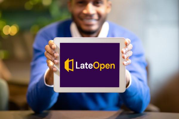 Sample branding #2 for Lateopen