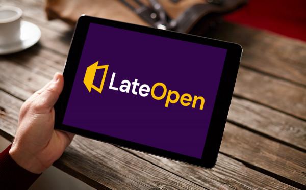 Sample branding #1 for Lateopen