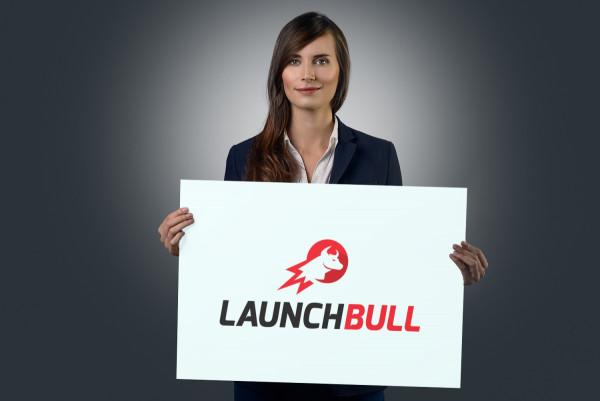 Sample branding #1 for Launchbull