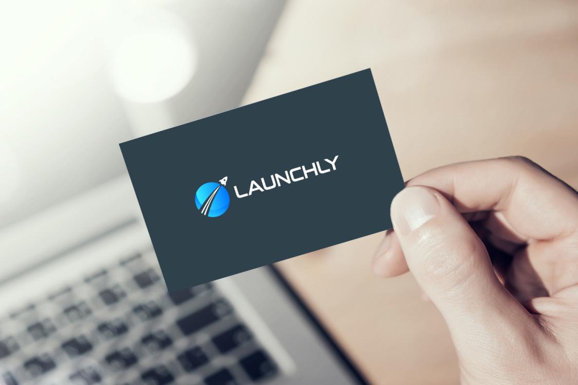 Sample branding #2 for Launchly