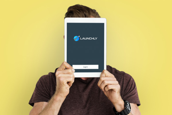 Sample branding #2 for Launchly