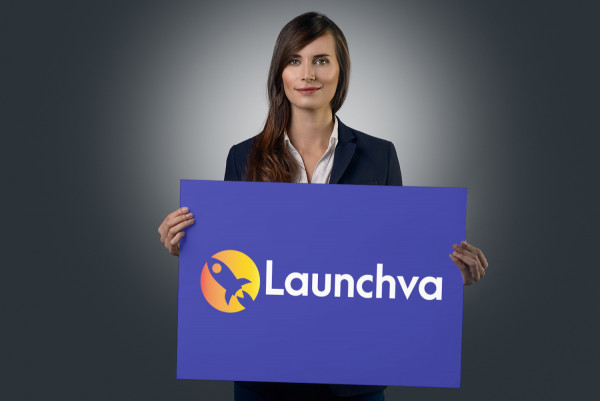 Sample branding #2 for Launchva