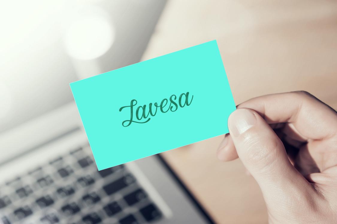 Sample branding #2 for Lavesa