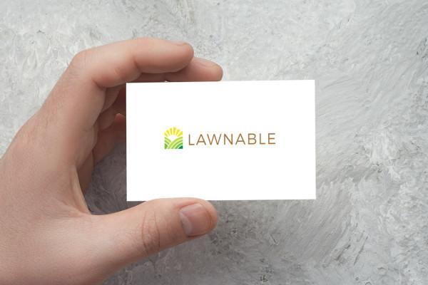 Sample branding #3 for Lawnable