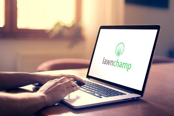 Sample branding #2 for Lawnchamp