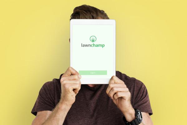 Sample branding #1 for Lawnchamp