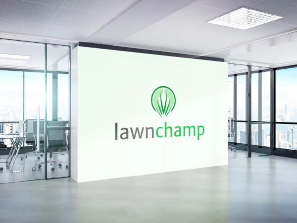 Sample branding #3 for Lawnchamp