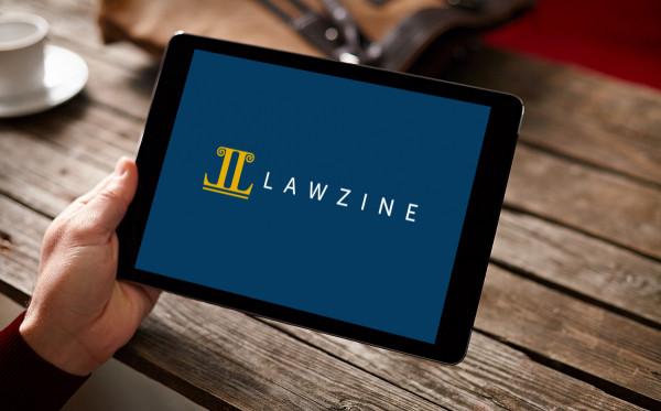 Sample branding #2 for Lawzine