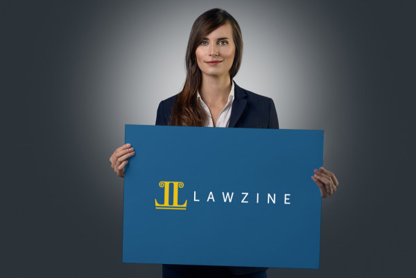 Sample branding #1 for Lawzine