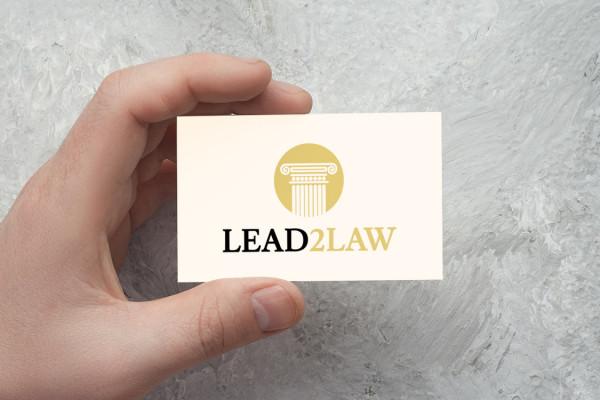Sample branding #1 for Lead2law