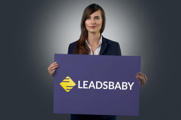 Sample branding #1 for Leadsbaby
