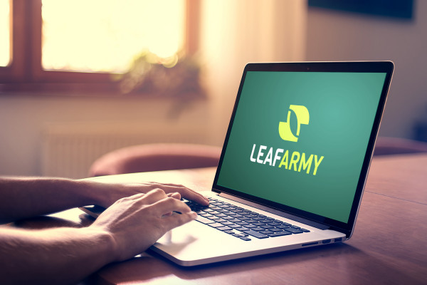 Sample branding #2 for Leafarmy